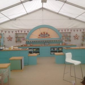 circus signs on junior bake off