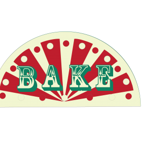 circus sign on junior bake off 2016