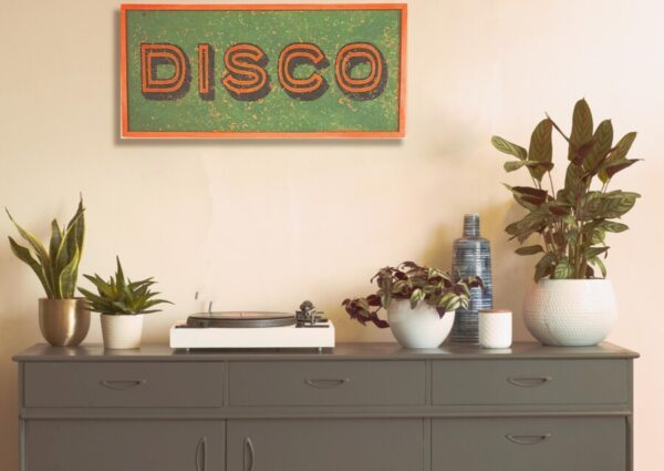 Disco sign. neon sign. dance sign, neon, cool sign, retro sign, personalised signs